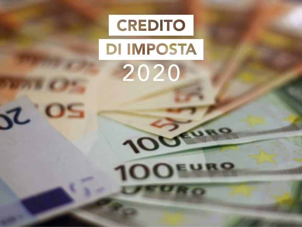 Crediti D'imposta 2020 E Strumenti Finanziari Aziendali