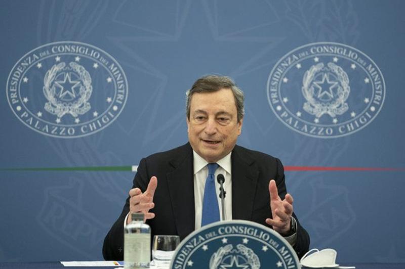 Mario Draghi E Decreto Sostegni Bis Approvato